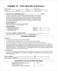 Room Rental Contract 30 Room Rental Contract Template Andaluzseattle Template