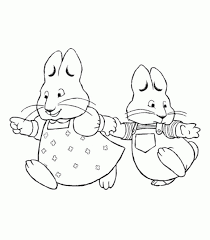 Small Picture Max And Ruby Coloring Pages To Print free max and ru coloring