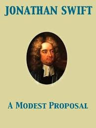 An illustration of Jonathan Swift  Notes  summary  analysis and synopsis of A  Modest Proposal