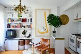 House Tour: An Eclectic Modern Mini Brooklyn Studio