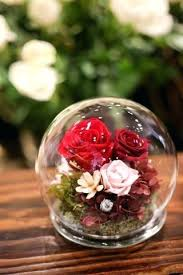 preserved flowers in glass dome my flower lily fl studio preserved flowers in glass dome