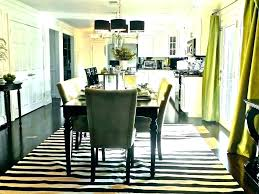 round rug under rectangular dining table inch round rug rug size for dining table round area