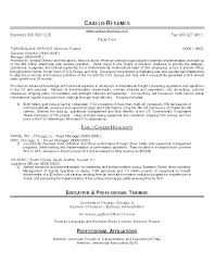 Sample Resume for Global Operations Executive