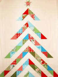 Quilt Inspiration: Free pattern day: Christmas quilts (part 1): Trees! & Hip Holidays quilt, 57 x 70