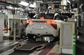 Take a Trip Into Toyota Mirai's Production Plant - autoevolution