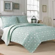 LauraAshley Hyannis Quilt Set. #beachy #aqua #bedroom ... & #LauraAshley Hyannis Quilt Set. #beachy #aqua #bedroom #beddingstyle Adamdwight.com