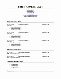 Resume Format Download In Ms Word 2010 Best Of Resume Template
