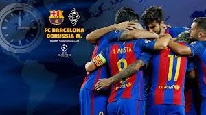 11 spiele, 5 siege, 3 unentschieden und 3 niederlagen (16 gelbe karten, keine platzverweise und 1x elfmeter). When And Where To Watch Fc Barcelona V Borussia Monchengladbach
