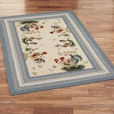 Rooster Area Rugs Kitchen Similiar Braided Rooster Rugs Keywords