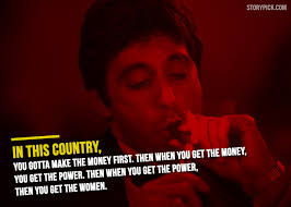 Scarface Quotes Amazing 48 Kickass Quotes From Al Pacino's 'Scarface' That'll Make You Start