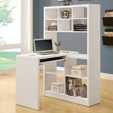 hudson 16 cube shelf with desk white hayneedle regarding modern home white desk with shelves ideas
