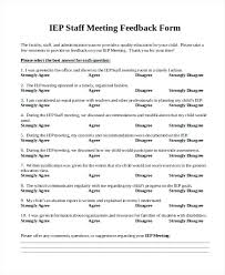 Meeting Survey Template Meeting Feedback Survey Template Feedback Survey Meeting Questions