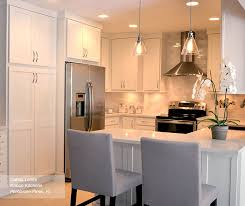 Alpine White Shaker Style Kitchen Cabinets - Homecrest