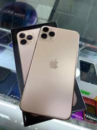 apple iphone 11 pro max 64gb gold myset