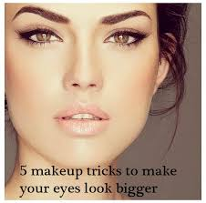 makeup that makes your eyes look bigger how to make you eyes look bigger