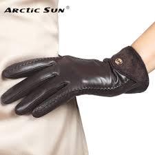 ซ อท ไหน top fashion goatskin solid genuine leather gloves women wrist fur adornment winter sheepskin glove fleece lining limited l148nq ในประเทศไทย