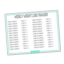 Weight Loss Recording Charts Monthly Weight Loss Chart Body Measurements Chart Yearly Record For Weight Loss Weight Loss Weekly Weight