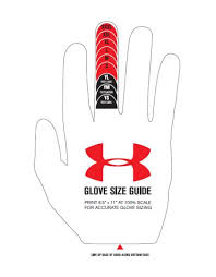 Under Armour F4 Youth Football Gloves