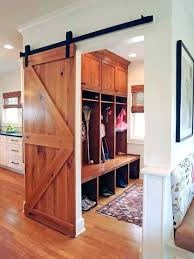interior sliding barn door. Sliding Barn Doors Interior Door Mudroom With
