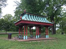What is a pavilion Gazebo Click To Enlarge This Is What The Pavilion Looked Like Before The Restoration Photo Courtesy Of Tower The Urban List Tower Grove Parks Historic Chinese Pavilion Just Got Major