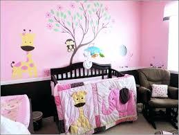decoration vintage circus nursery bedding crib cribs trend lab round skirt country neutral black girl