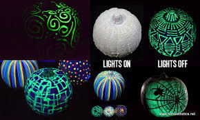 The Ultimate Decorations For The Upcoming Halloween: DIY Glow In The Dark  Pumpkins