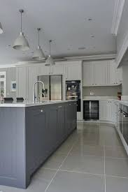 light gray kitchen best blue grey kitchens ideas on grey kitchens small kitchen floor tile ideas