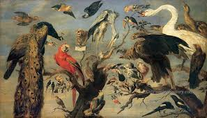 9 frans snyders concert of birds oil paintings
