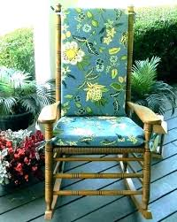 wooden rocking chair cushions to cozy outdoor rocking chair cushions gallery wooden rocking chair cushions