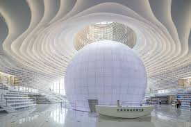 China's New Tianjin Binhai Library Might Just Be The Most Breathtaking  Library On The Planet