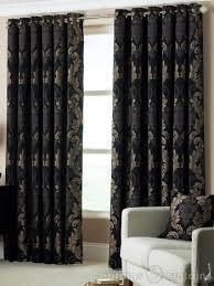 room curtains catalog luxury designs: damask black amp gold heavy luxury designer eyelet curtain curtains uk