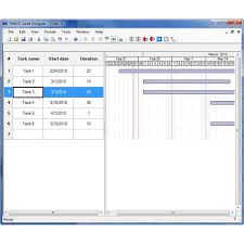 Gantt Chart Examples, Tutorials, And Templates – Free Downloads And ...