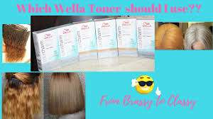 Wella Eos Color Chart Brassy Orange Hair Which Wella Toner Should I Use