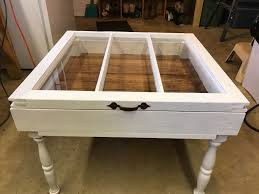 26 best images of rustic shadow box coffee table