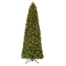 Pre-Lit LED Sierra Nevada Quick Set Artificial Christmas Slim Tree x