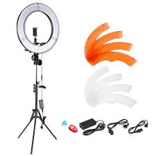 Neewer Rl 12 Led Ring Light Us 72 89 19 Off Neewer 12 Inch Inner 14 Inch Outer Led Ring Light Light Stand 36w 5500k Lighting Kit With Soft Tube Color Filter Led Light In