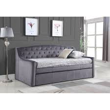 enzo upholstered daybed with trundle