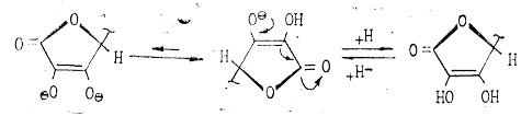 Технология производства аскорбиновой кислоты витамина С  Аскорбиновая кислота легко отщепляет протон гидроксила в положении Сз кольца и по силе не уступает карбоновым кислотам