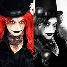 creepy ringmaster makeup by me photography by julie ufema of bittersweet studios