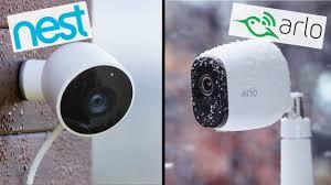 Arlo Camera No Lights Nest Vs Arlo Pro Best Home Security Camera Comparison