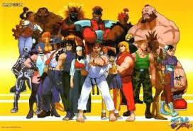 street fighter ex video games artwork