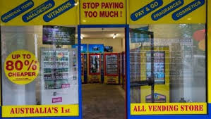 Vending Machine Shop Cool Spotting A Slot In The Market Led To Australia's First Vending