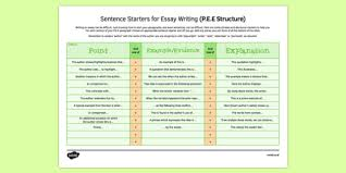 reference sheet sentence starters for essays english reference sheet sentence starters for essays english analysis aqa edexcel wjed
