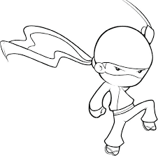 Small Picture Lego Ninja Coloring Pages For Kids vonsurroquen