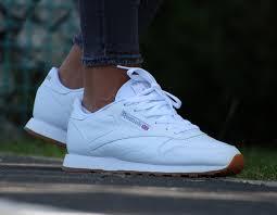 reebok classic white gum
