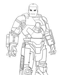 Small Picture Awesome Iron Man Coloring Pages Mark Images New Printable