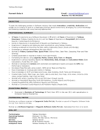 Tableau Developer RESUME Ramesh Babu k Email : ramesh5soft@gmail.com  Mobile:+ ...