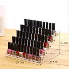 nail polish storage rack makeups box