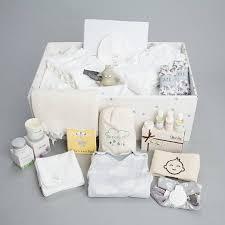luxury baby box with new baby gift set