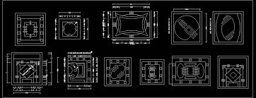 Design Cad 2d Download False Ceiling Design Autocad Blocks Dwg Free Download